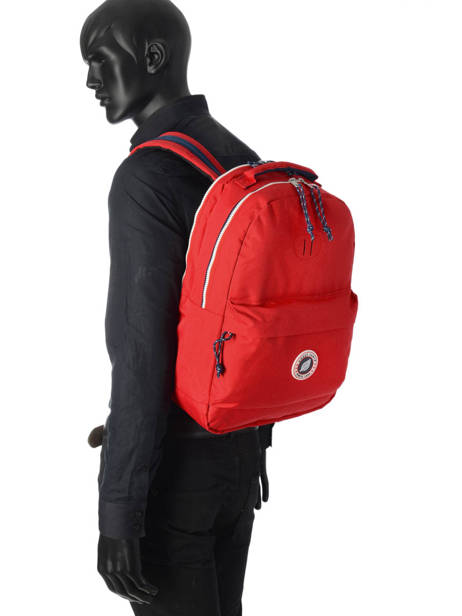 Backpack 2 Compartments + 15'' Pc Sweet pants Red urban DAILY other view 2