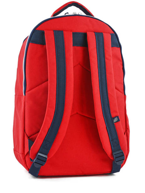 Backpack 2 Compartments + 15'' Pc Sweet pants Red urban DAILY other view 3