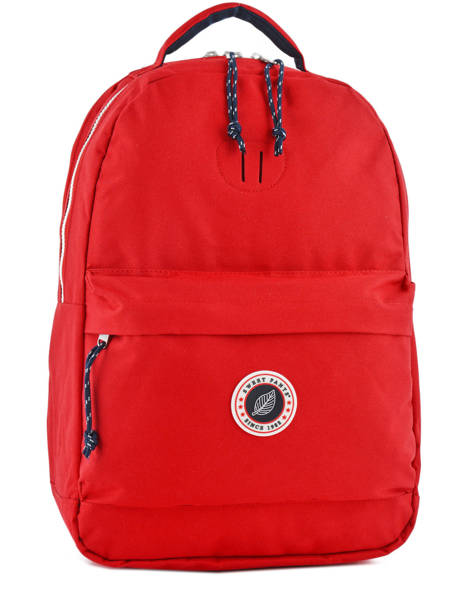 Backpack 2 Compartments + 15'' Pc Sweet pants Red urban DAILY