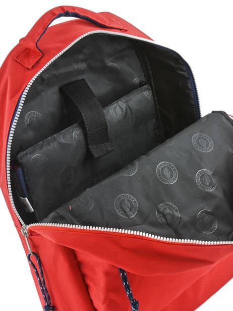 Sac à Dos 1 Compartiment Sweet pants Rouge urban LOOPS vue secondaire 4