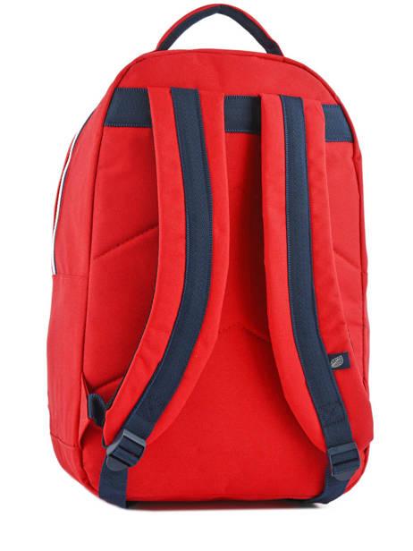 Sac à Dos 1 Compartiment Sweet pants Rouge urban LOOPS vue secondaire 3