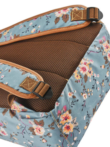 Sac à Dos 1 Compartiment Basilic pepper Bleu liberty G657-FLO vue secondaire 1