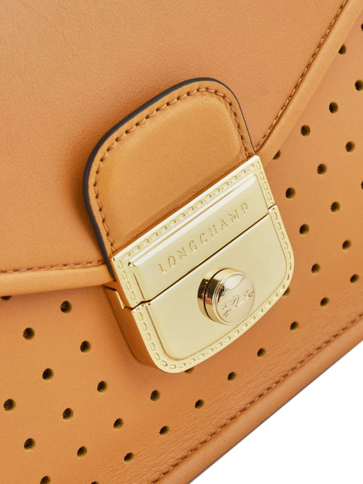 Longchamp Mademoiselle longchamp Sacs porté travers Marron