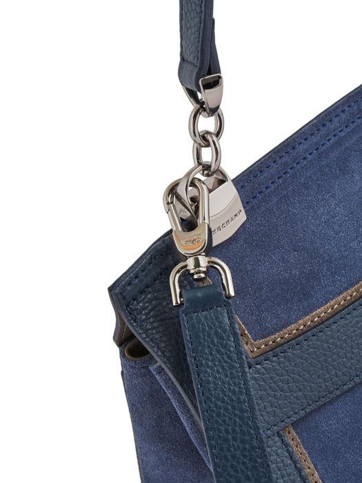 Longchamp Longchamp madeleine tribu Sacs porté main Bleu