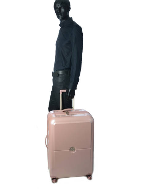Hardside Luggage Turenne Delsey Pink turenne 1621820 other view 2