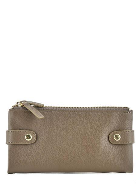 Purse Leather Miniprix Gray fancil LS2597
