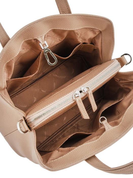 Longchamp Le foulonné Sacs porté main Beige