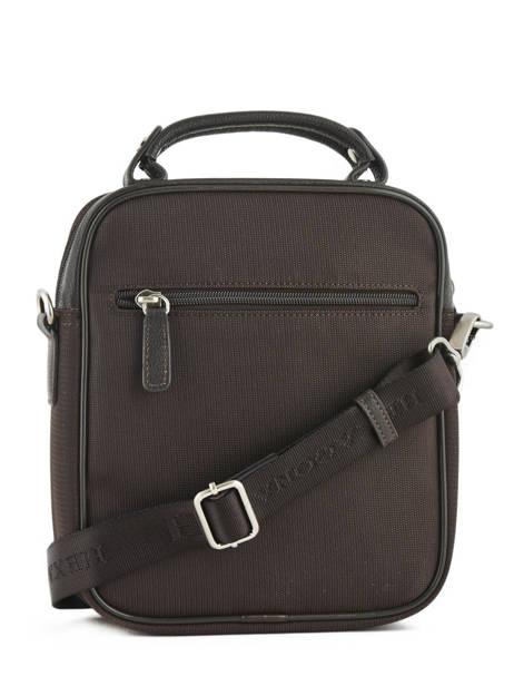Messenger Bag Hexagona Brown travel business 293805 other view 2
