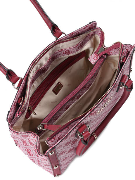 Sac Shopping Florence Guess Rouge florence SG699109 vue secondaire 4