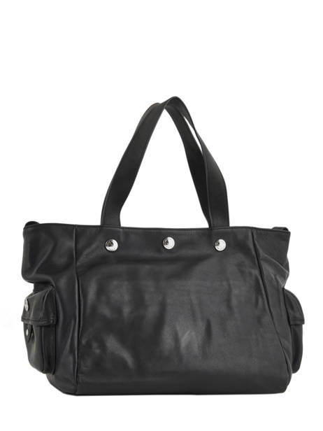 Sac Shopping Luxembourg Cuir Sonia rykiel Noir luxembourg 2296-44 vue secondaire 3