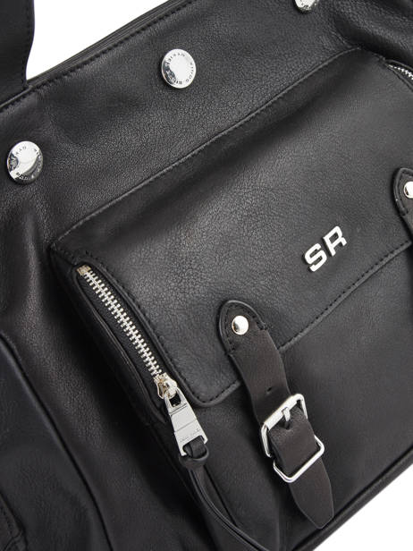 Sac Shopping Luxembourg Cuir Sonia rykiel Noir luxembourg 2296-44 vue secondaire 1