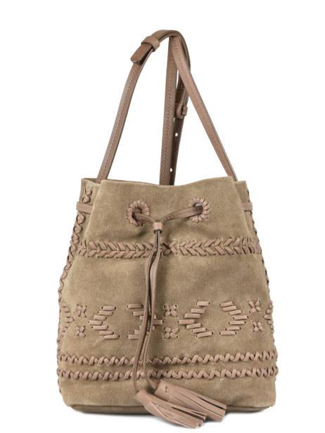 Bucket Bag Arty Leather Gerard darel Brown arty DGS62445