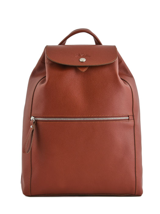 Longchamp Sac à dos Marron