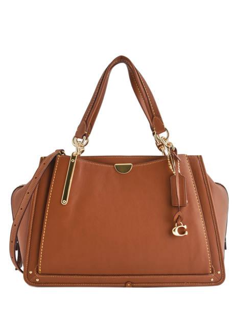 Tote Bag Dreamer 36 Leather Coach Brown dreamer 31640