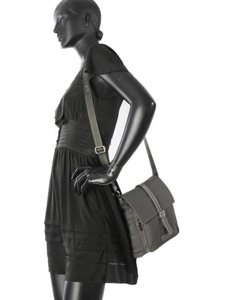 Shoulder Bag Basic Vernis Lancaster Gray basic vernis 514-85 other view 2