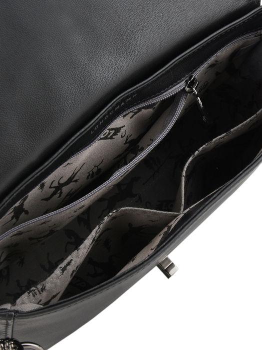 Longchamp Alezane Sacs porté travers Noir