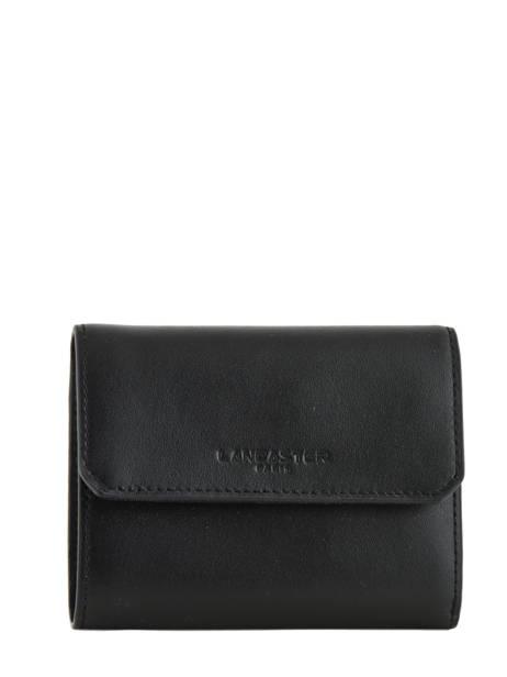 Wallet Leather Lancaster Black parisienne 171-08
