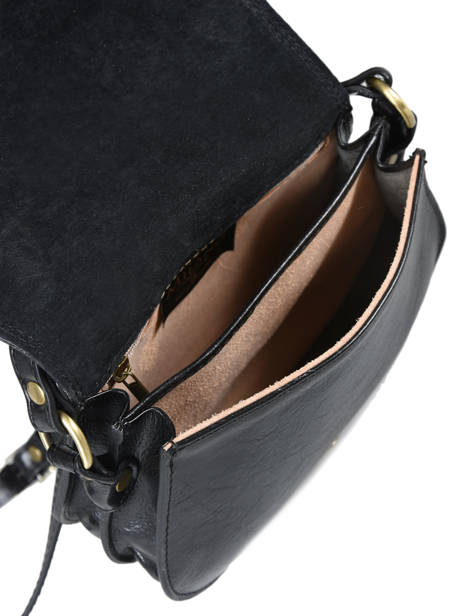 Tempo Small Saddle Bag Milano Black tempo TE18062 other view 3