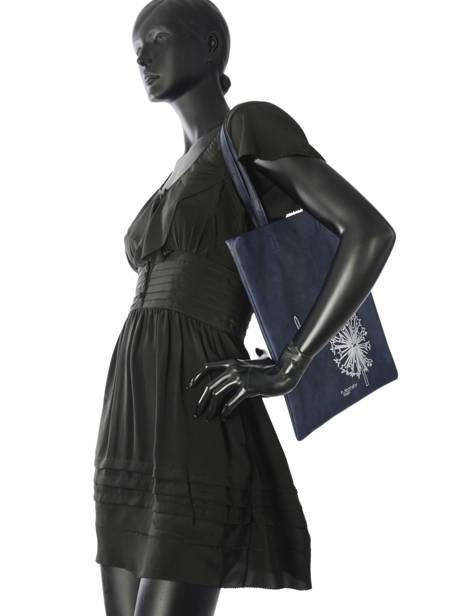 Sac Shopping Flat Bag Woomen Bleu flat bag WFLAT01 vue secondaire 2
