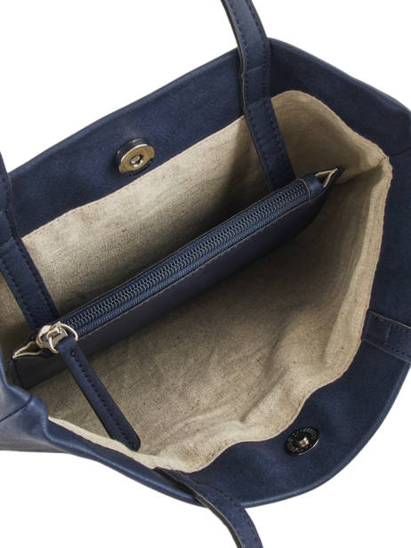 Sac Shopping Flat Bag Woomen Bleu flat bag WFLAT01 vue secondaire 5