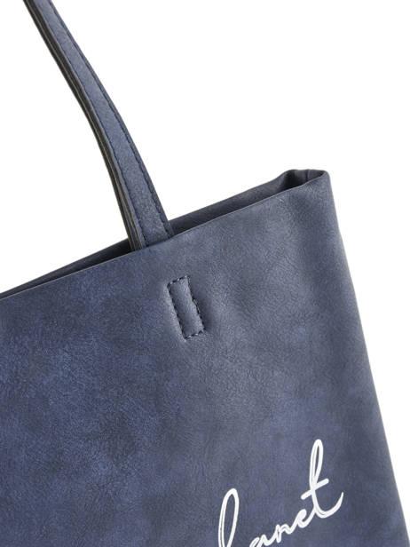 Sac Shopping Flat Bag Woomen Bleu flat bag WFLAT01 vue secondaire 1