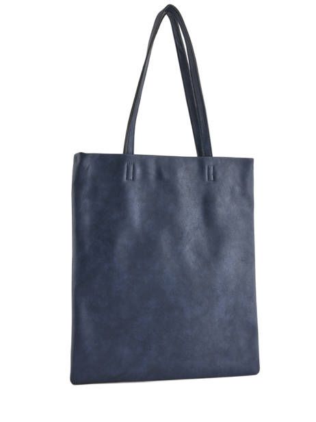 Sac Shopping Flat Bag Woomen Bleu flat bag WFLAT01 vue secondaire 4
