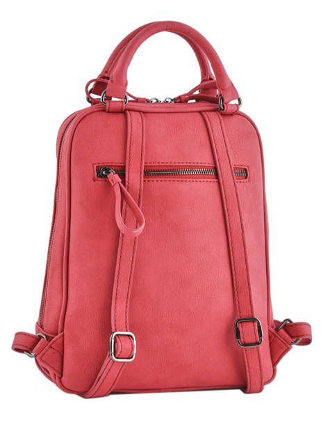 Backpack Woomen Red hibiscus WHIBI01 other view 4