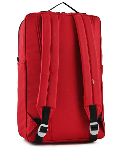 Backpack 15'' Laptop Levi's Red l1 225294 other view 4