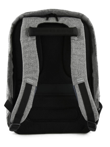 Backpack 1 Compartment + 17'' Pc Xd design Gray bobby P705-56 other view 3