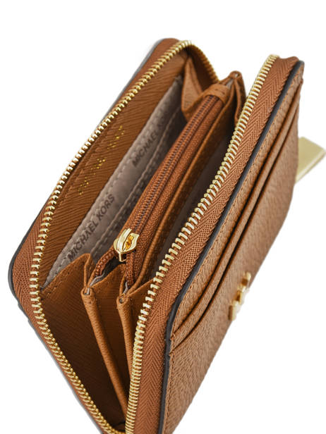 Purse Leather Michael kors Brown money pieces T8GF6Z1L other view 2