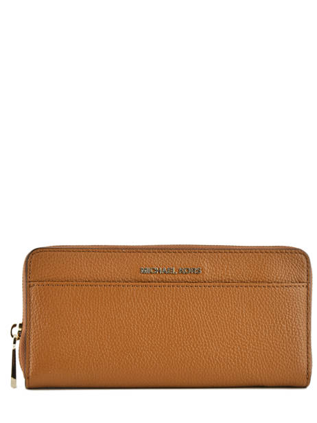 Wallet Leather Michael kors Brown money pieces S7GM9E9L