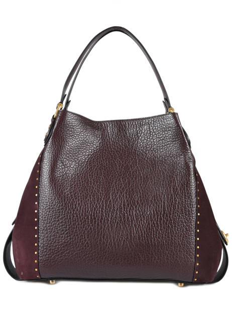 Shopper Edie 31 Leather Coach Red edie 32988 other view 3