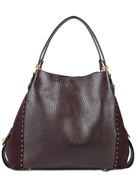 Shopper Edie 31 Leather Coach Red edie 32988