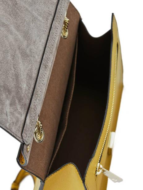 Shoulder Bag Like Leather Furla Yellow like LIK-BQA2 other view 4