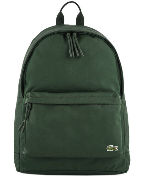 Backpack 1 Compartment Lacoste Black neo croc NH2677NE