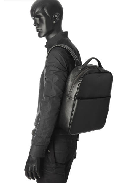 Business Backpack Hexagona Black encore 135731 other view 1
