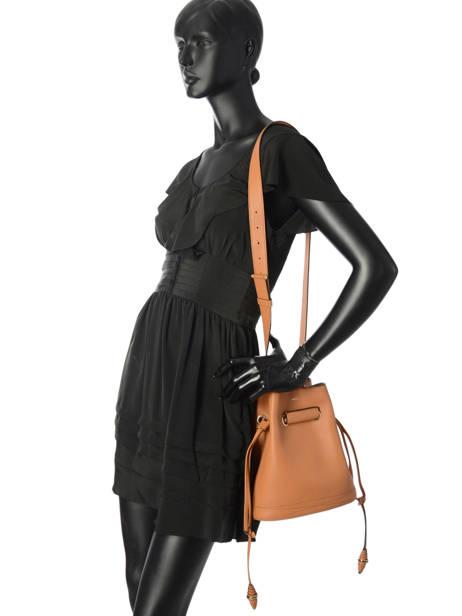 Crossbody Bag S Le Huit Leather Lancel Brown le huit A07111 other view 3