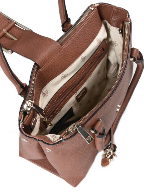 Sac Shopping Caroline Guess Marron caroline VG709509 vue secondaire 4