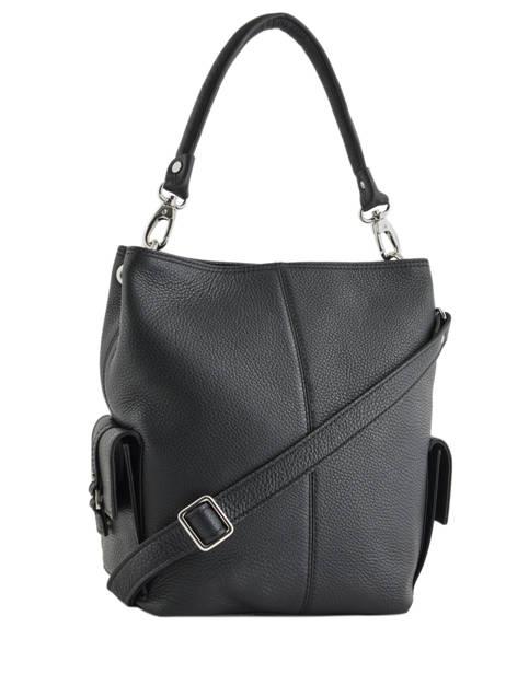 Bucket Bag Vesuvio Leather Mac douglas Black vesuvio MEGVES-W other view 3