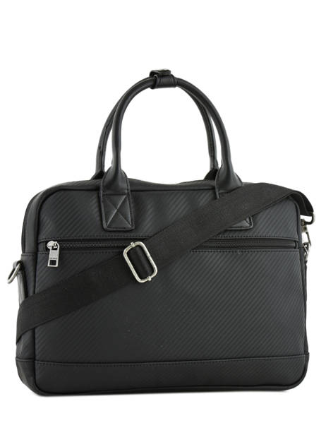 Briefcase 1 Compartment + 15'' Pc Serge blanco Black cosmos CMO41061 other view 3