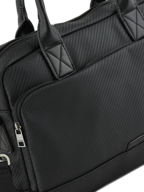 Briefcase 1 Compartment + 15'' Pc Serge blanco Black cosmos CMO41061 other view 1