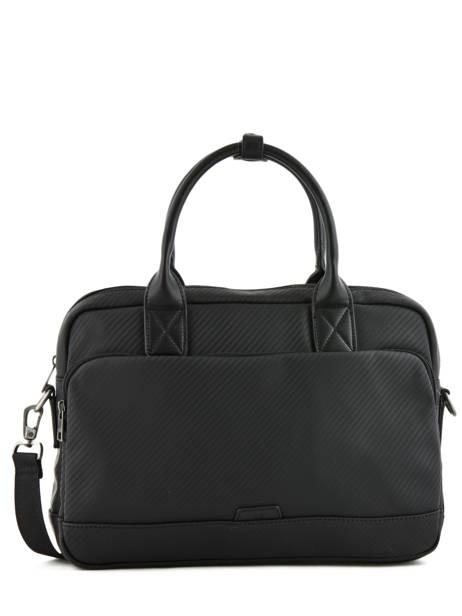 Briefcase 1 Compartment + 15'' Pc Serge blanco Black cosmos CMO41061