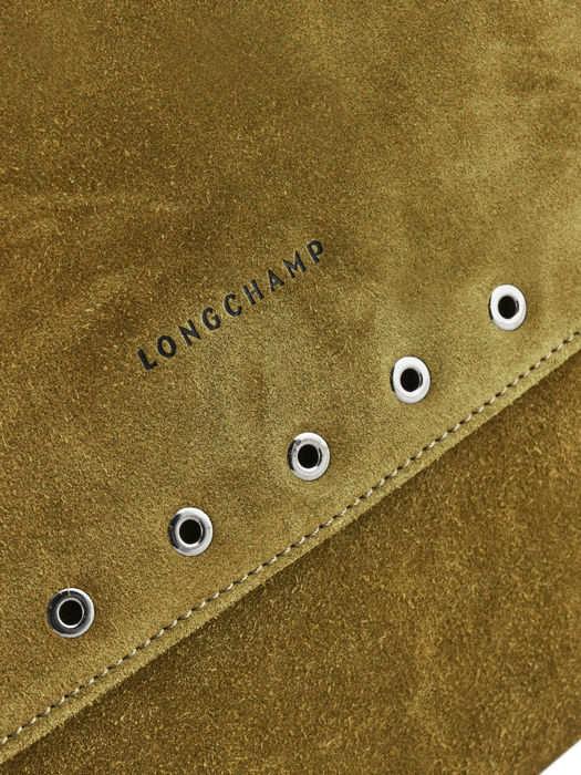 Longchamp Paris Rocks Velours Besaces Noir