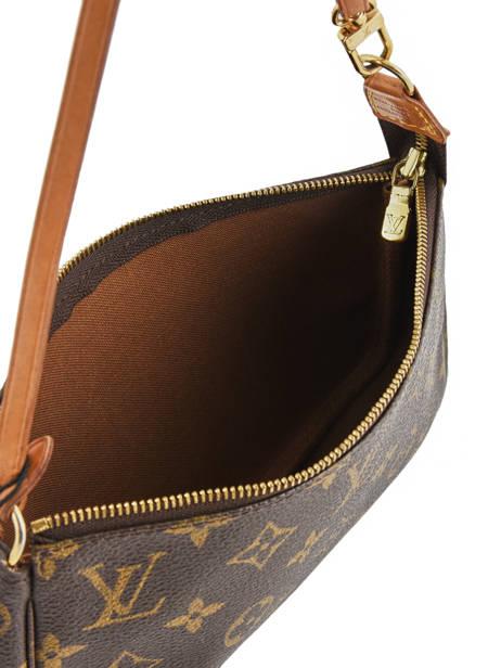 Mini-sac D'occasion Louis Vuitton Pouch Monogrammé Brand connection Marron louis vuitton 004 vue secondaire 5