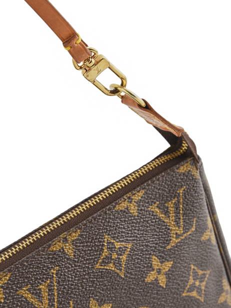 Mini-sac D'occasion Louis Vuitton Pouch Monogrammé Brand connection Marron louis vuitton 004 vue secondaire 1