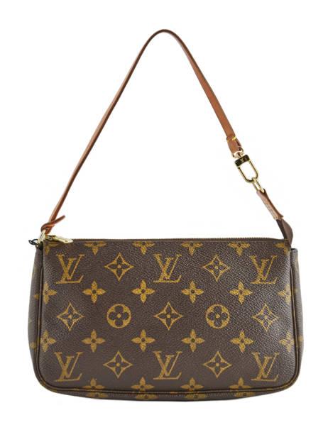 Mini-sac D'occasion Louis Vuitton Pouch Monogrammé Brand connection Marron louis vuitton 004