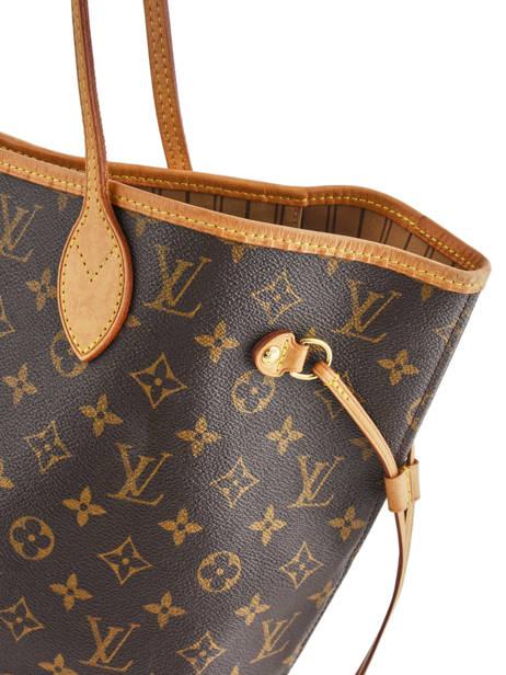 Sac Cabas D'occasion Louis Vuitton Neverfull Monogrammé Brand connection Marron louis vuitton 400A vue secondaire 1
