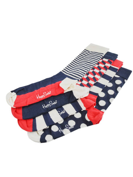 Socks Gift Box Happy socks Multicolor pack XBDO09 other view 2