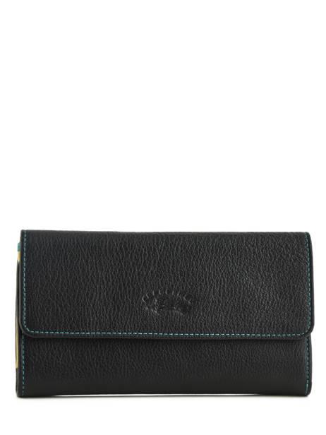Wallet Leather Francinel Black cook 59915