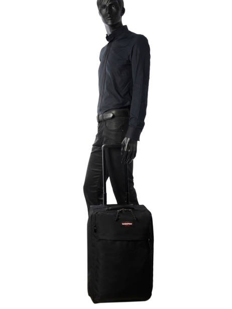 Cabin Luggage Eastpak Black authentic luggage K36D other view 3